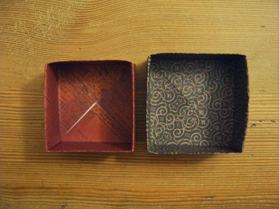 Stempelfrida: Einfache Origamibox