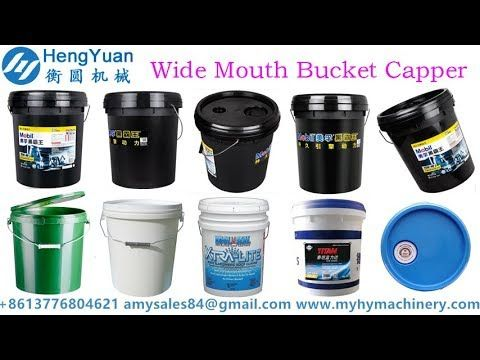 Wide Mouth Bucket Pail Cap Pressing Machine Pail Bucket Mugs