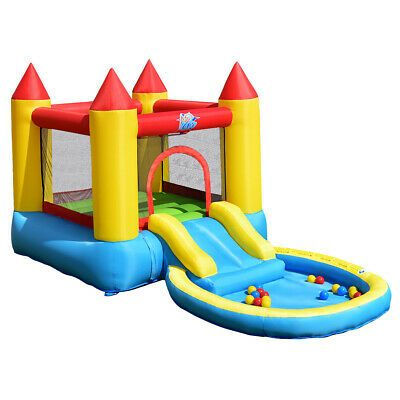 Details About Inflatable Bounce House Kids Slide Jumping Castle