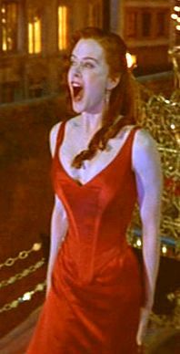 Satine in Red Dress Moulin Rouge.  Movie Costumes  Pinterest ...