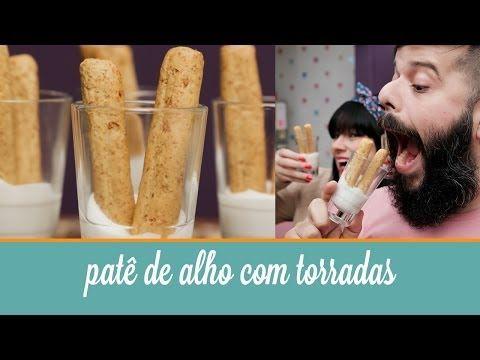 Patê de Alho com Torradas | Cozinha para 2 - YouTube