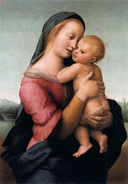 Madonna Tempi,1508 di Raffaello Sanzio (1483-1520)