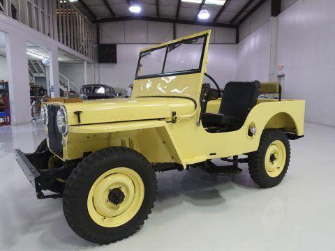 1946 Jeep Willys Cj2a Jeep Cj Willys Willys Jeep