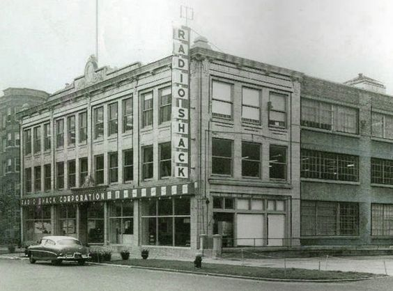 RadioShack's first headquarters was at its BU location