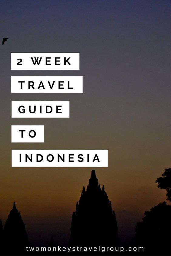 weeks travel guide indonesia