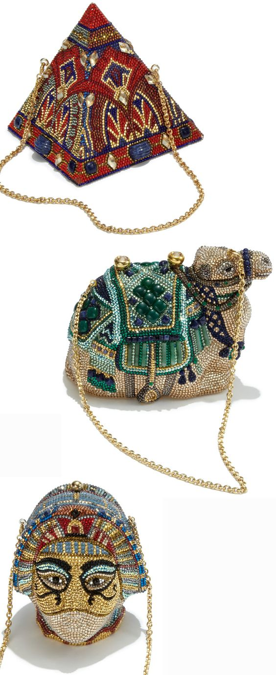 Nothing ancient about these beauties. Discover Judith Leiber's latest collection of clutches at Saks.