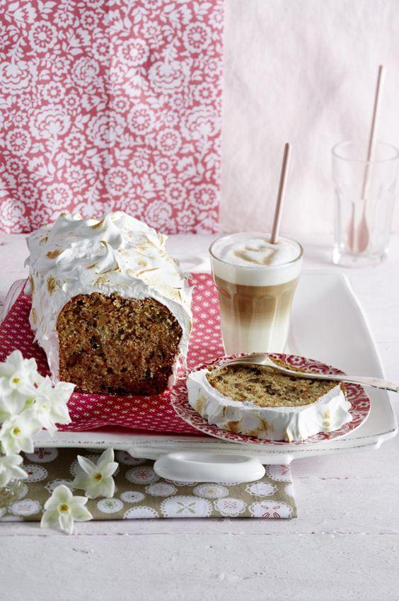 Unser beliebtes Rezept für Möhren-Walnuss-Kastenkuchen mit geflämmtem Baiser und mehr als 55.000 weitere kostenlose Rezepte auf LECKER.de.