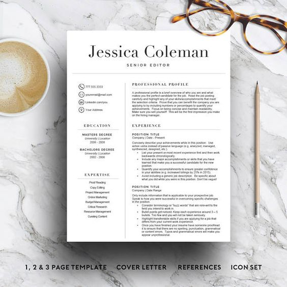 Medical RESUME Template Nurse Resume @creativework247 Resume - medical resume template