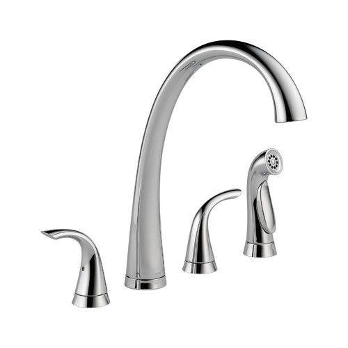 Found It At Wayfair Pilar Double Handle Standard Kitchen Faucet