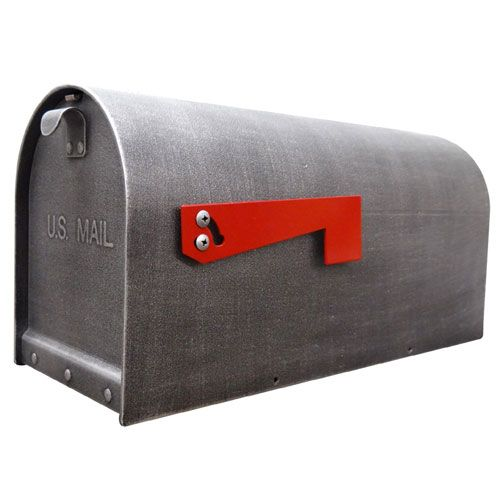 Special Lite Products Company Sch 1016 S Sw Titan Curbside Steel Mailbox In Swedish Silver Bellacor In 2021 Mounted Mailbox Steel Mailbox Post Mount Special lite mail box