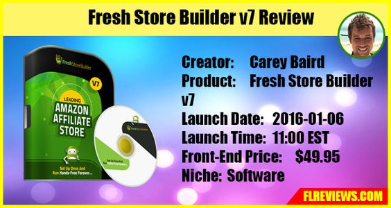 Fresh Store Builder v7 Review http://flreviews.com/fresh-store-builder-v7-review/ Fresh Store Builder v7 Review - The last release of Fresh Store Builder made affiliates an AVERAGE of $9.51 per click. Tags: Fresh Store Builder v7, Fresh Store Builder, Fresh Store Builder Review, Fresh Store Builder v7 software, Fresh Store Builder v7 applican