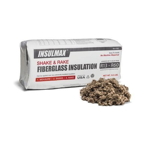Insulmax Shake And Rake Loose Fill Fiberglass Insulation At Menards Insulmax Reg Shake And Rake Loose Fi Loose Fill Insulation Fiberglass Insulation Shakes