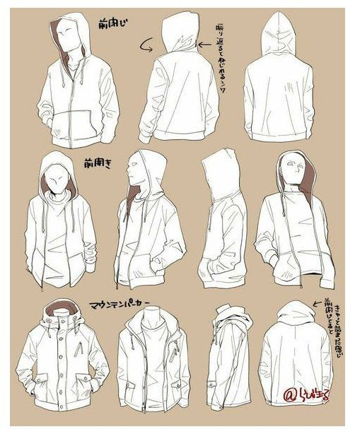 Hoodie Drawing Reference Character Design In 2020 Art Reference Poses Drawing Anime Clothes Drawing Clothes