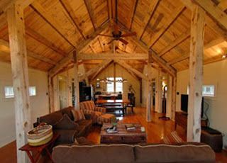 House Barn Combo Plans There 39 S An Open Floor Plan In The