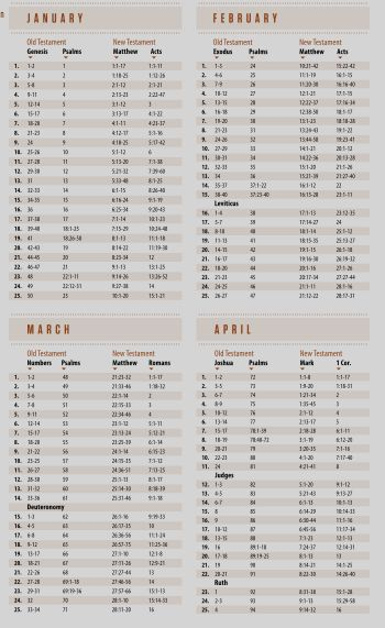 52-Week Bible Reading Plan copy. This is next year's new ...