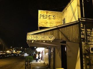 Pepe's. great food.