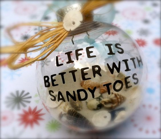 Beach Ornament Decor by SimplySea on Etsy, $12.00