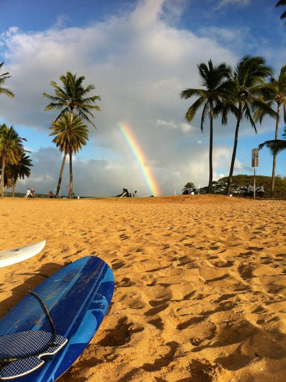 Rainbow, North Shore