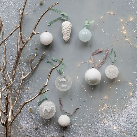 Frosty Pinecone Ornament in Sale Holiday at Terrain