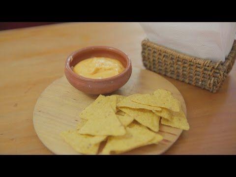 Salsa de queso para nachos - YouTube