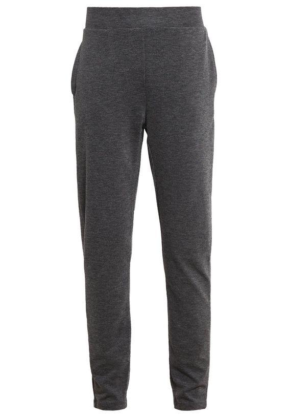 Selected Femme SFSASHA Jogginghose dark grey melange Bekleidung bei Zalando.de | Material Oberstoff: 57% Viskose, 38% Nylon, 5% Elasthan | Bekleidung jetzt versandkostenfrei bei Zalando.de bestellen!