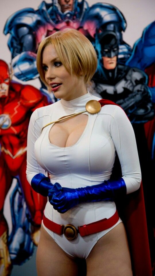 Character: Power Girl (Kara Zor-L, aka Karen Starr) / From: DC Comics 'Power Girl' & 'Justice Society of America' / Cosplayer: Crystal Graziano (aka Precious Cosplay) (2013)