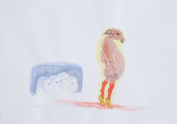 Galerie_Zeichnung - Saskia Niehaus