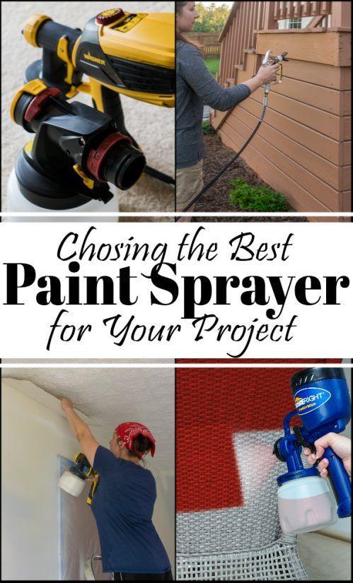 Best Paint Sprayers For Your Project Best Paint Sprayer Paint