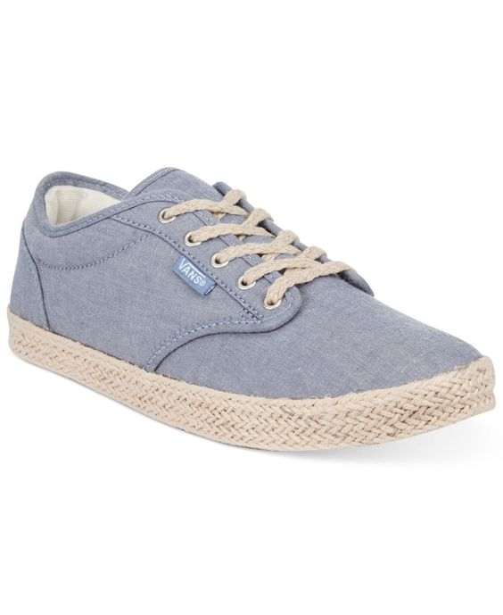Vans Women's Atwood Low Espadrille Lace-Up Sneakers