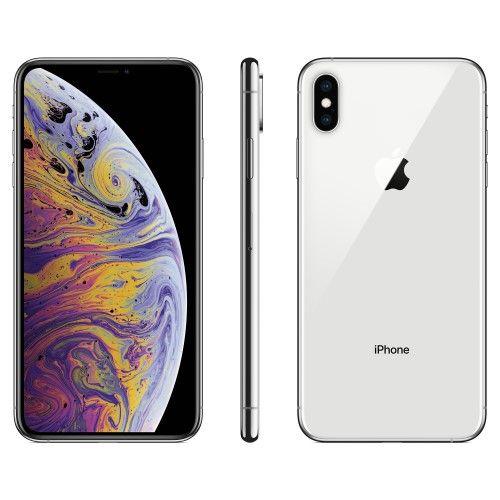 Straight Talk Prepaid Apple Iphone Xs Max 64gb Silver Prepaid Phones Iphone Apple Iphone