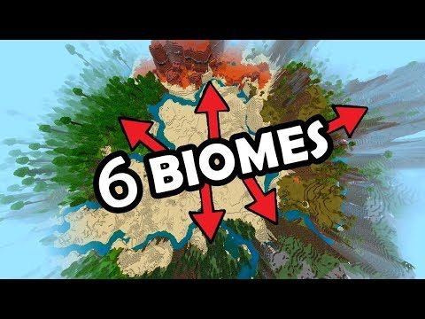 The Best Seed For Minecraft Bedrock Edition 6 Biomes At Spawn 8 Temples Fossil More Youtube In 2021 Cool Minecraft Seeds Minecraft Amazing Minecraft