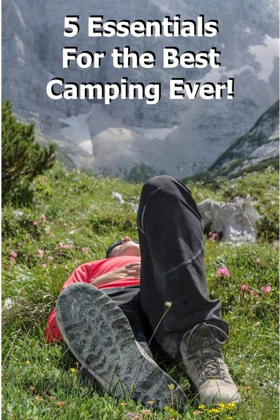 Check out these 5 essentials for having the best camping trip ever.  http://blog.getnorthbound.com/blog/5-items-for-best-camping-ever