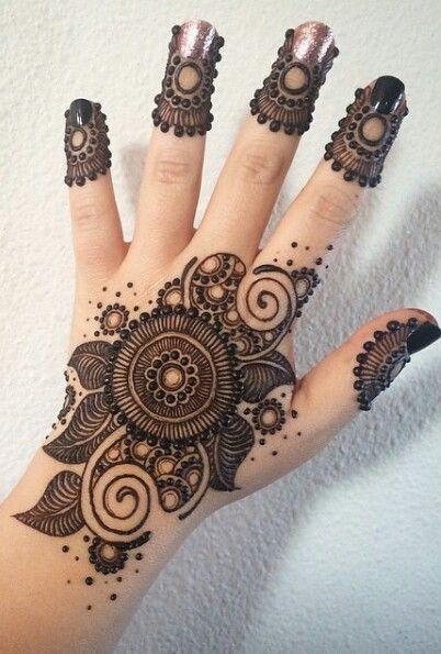 Mehndi Front Finger Design : Pinterest the world s catalog of ideas