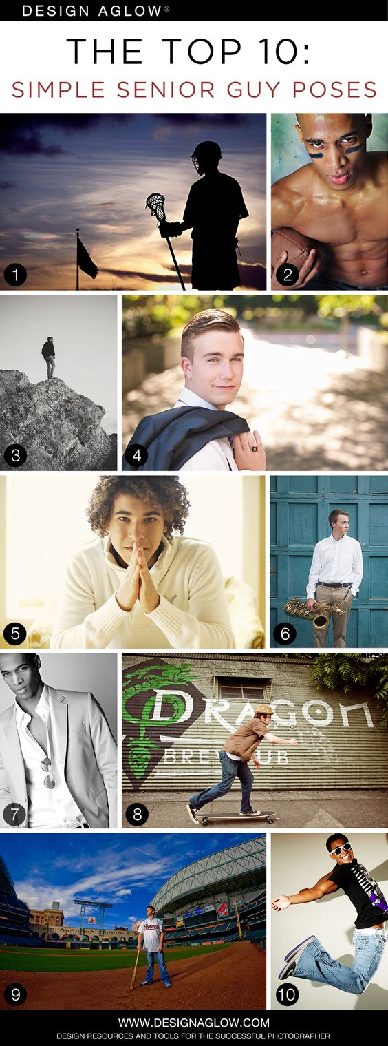 The Top 10: Simple Senior Guy Poses #designaglow