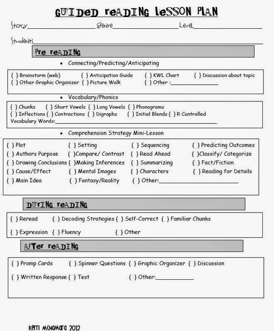 Guided Reading Template and Anecdotal Notes Template Maestros - feedback template word
