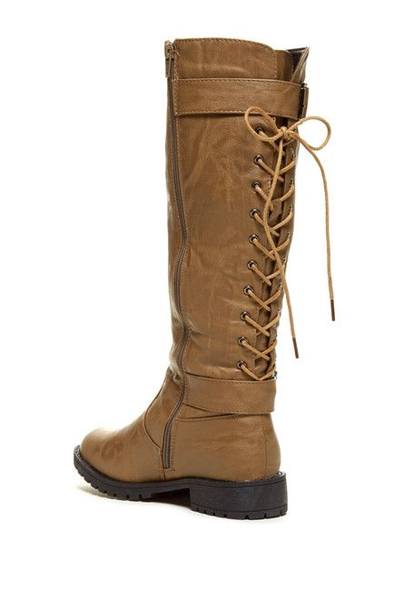 CA Collection by Carrini Back Lace-Up Boot
