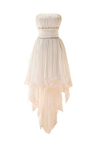 GEORGE DESIGN Popular High Low Beaded Chiffon Beach/Casual Wedding Dress Size 2 White GEORGE BRIDE http://www.amazon.com/dp/B00C61NXX2/ref=cm_sw_r_pi_dp_7cy7tb1FKEZ15