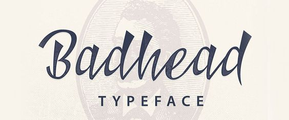 Badhead free font