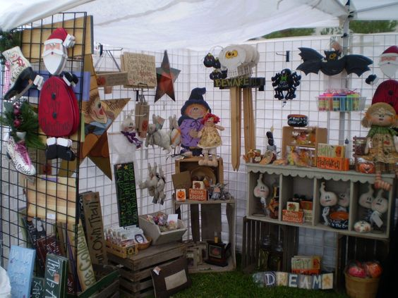 Twiddlebugz Designz: My booth at Art in the Park
