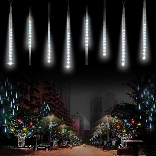 Top 10 Best Snowfall Led Lights For Outdoor Decoration In 2020 Christmas Lights Cascading Christmas Lights Rain Lights