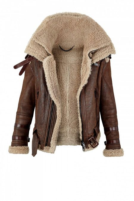 Burberry Prorsum Shearling Coats for Autumn/Winter 2010 | Brown