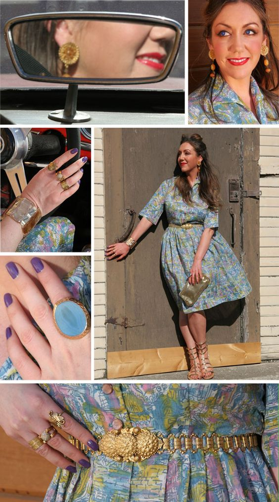 Vintage Styling by La Clotherie Consulting. Bay Area Stylist.