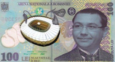 bancnota omafgiala victor ponta 100