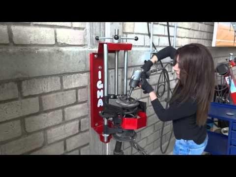 Prensas para comprimir resortes amortiguadores