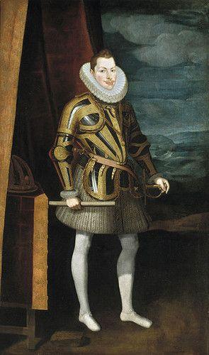 """A Monarquia Portuguesa 1598 - 1621 D. Filipe II """"O Pio"""" (14 Abril 1578 Madrid-31 Março 1621 Escorial) Casou com D. Margarida de Áustria"""