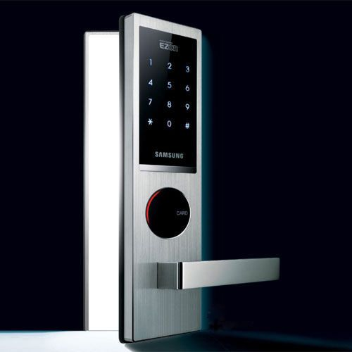 Biometric Fingerprint Keyless Entry Door Lock Rfid Fob Reader