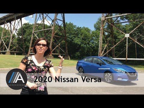 Jill Ciminillo Reviews The All New 2020 Nissan Versa In 2020 Nissan Versa Nissan Versa