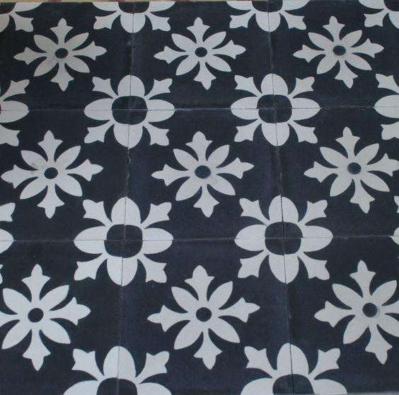 1m² zementfliesen orientalische Jugendstil Fliesen historische Baustoffe 1021