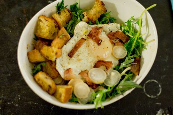 salade lyonaisse california style recipes dishmaps salade lyonaisse ...