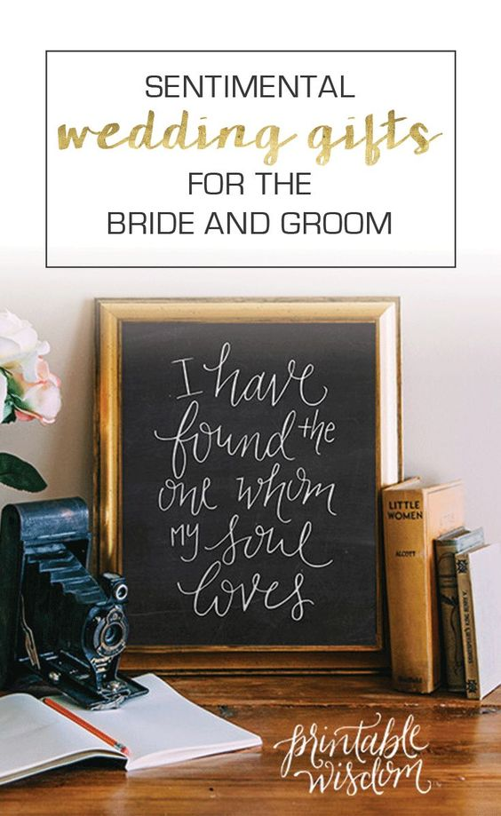 Sentimental Wedding Gift Ideas For Groom : ... wedding gift idea wedding secret wedding signs sentimental wedding